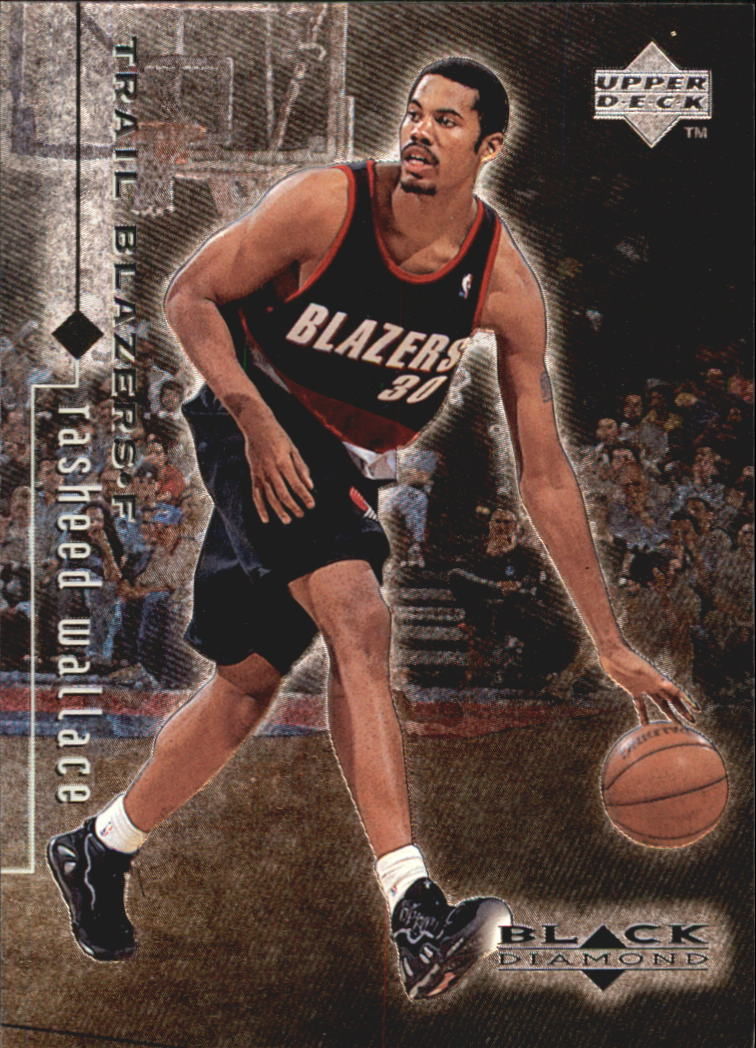 1998-99 Black Diamond #72 Rasheed Wallace