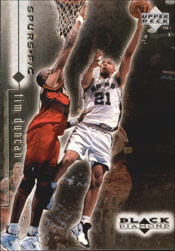 1998-99 Black Diamond #76 Tim Duncan