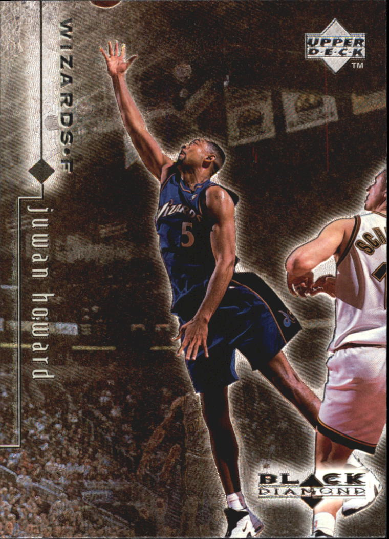 1998-99 Black Diamond #89 Juwan Howard
