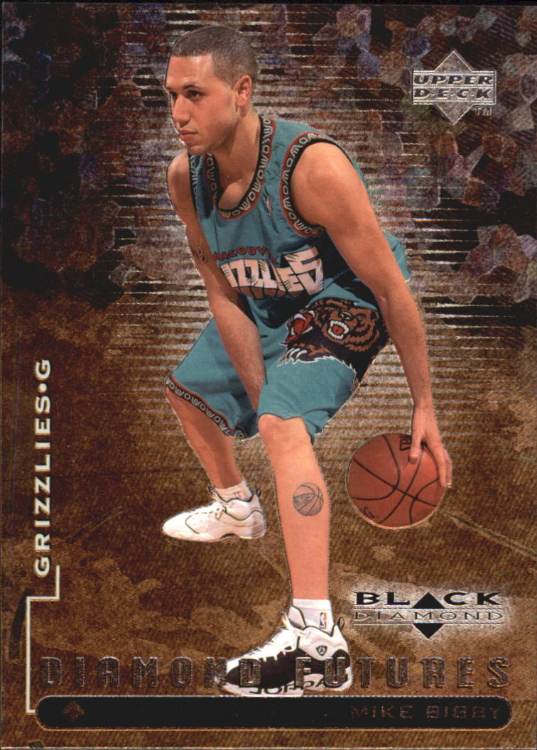 1998-99 Black Diamond #94 Mike Bibby RC