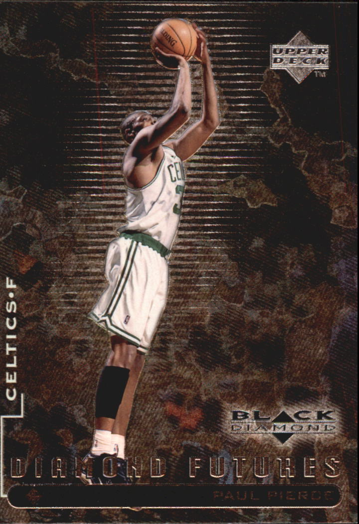 1998-99 Black Diamond #101 Paul Pierce RC