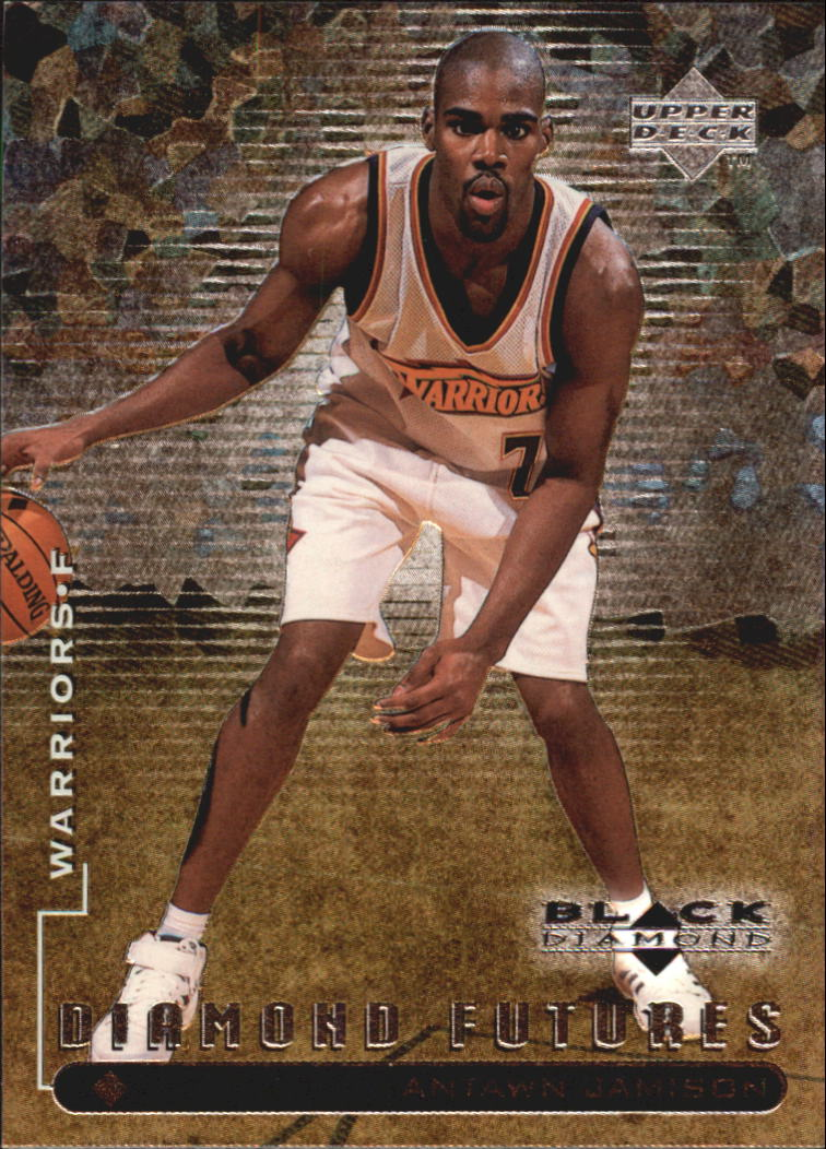 1998-99 Black Diamond #102 Antawn Jamison RC