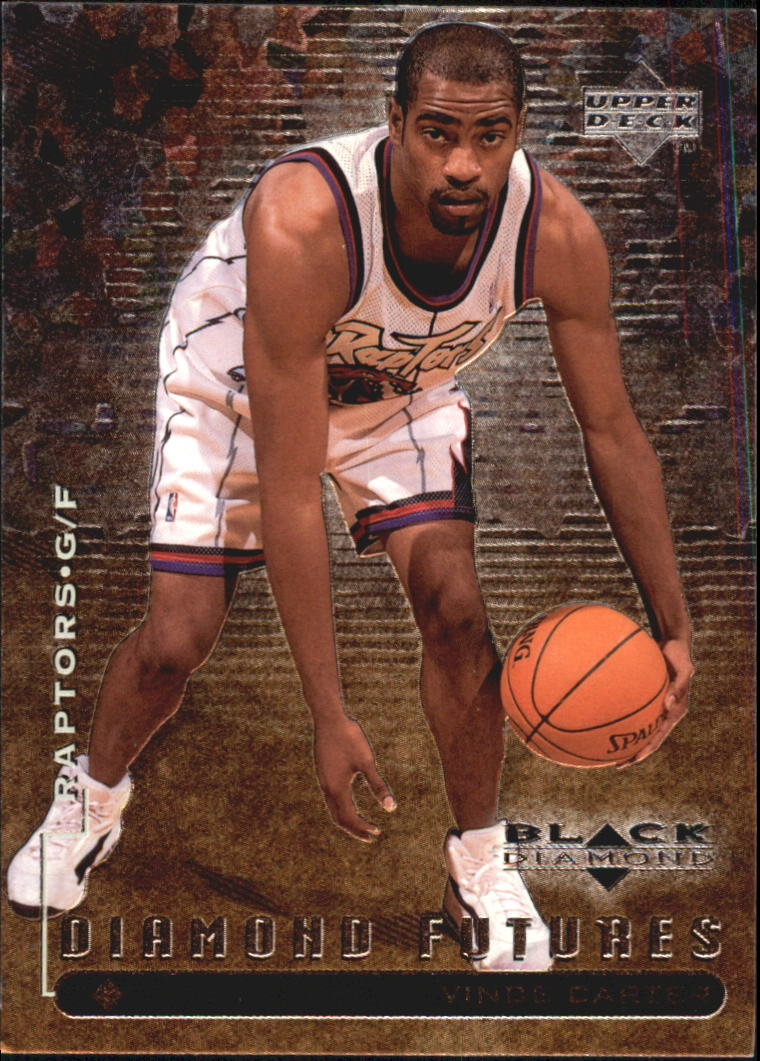 1998-99 Black Diamond #120 Vince Carter RC