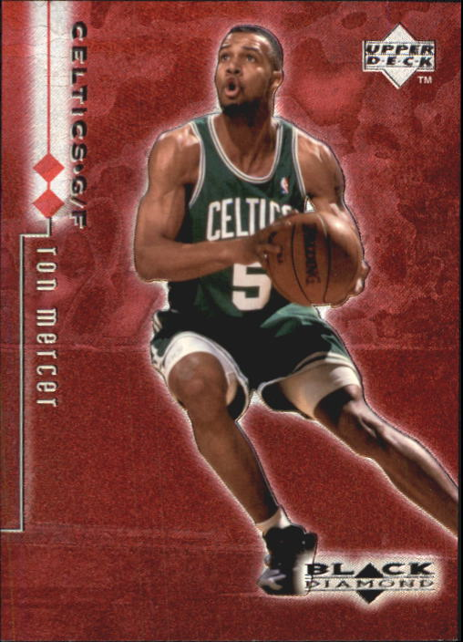 1998-99 Black Diamond Double Diamond #19 Ron Mercer