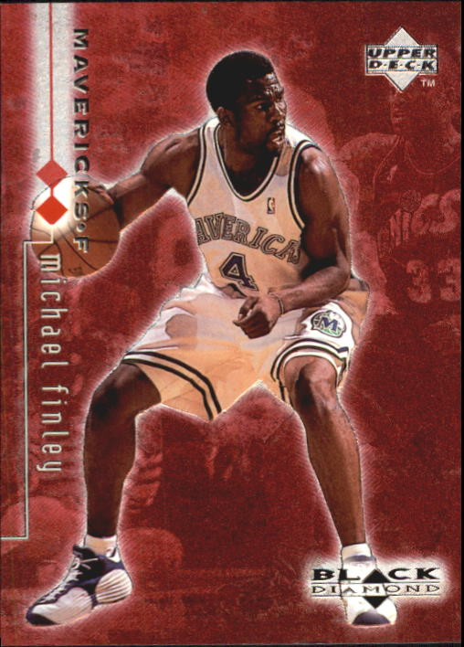 1998-99 Black Diamond Double Diamond #29 Michael Finley