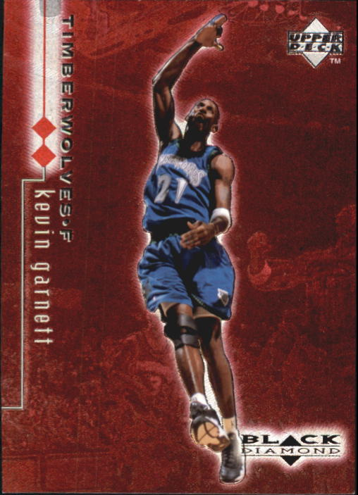 1998-99 Black Diamond Double Diamond #57 Kevin Garnett