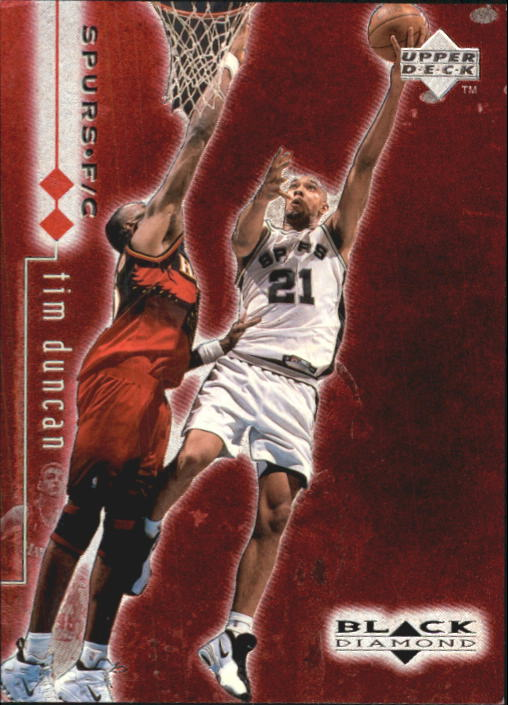 1998-99 Black Diamond Double Diamond #76 Tim Duncan