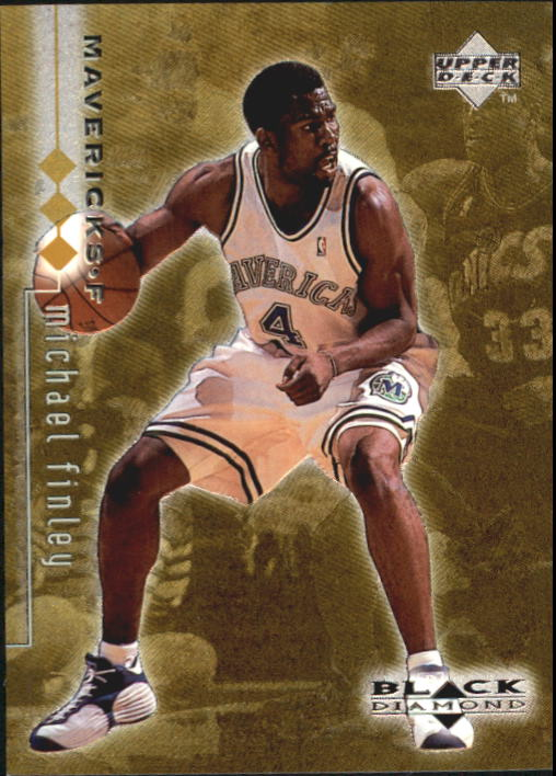 1998-99 Black Diamond Triple Diamond #29 Michael Finley