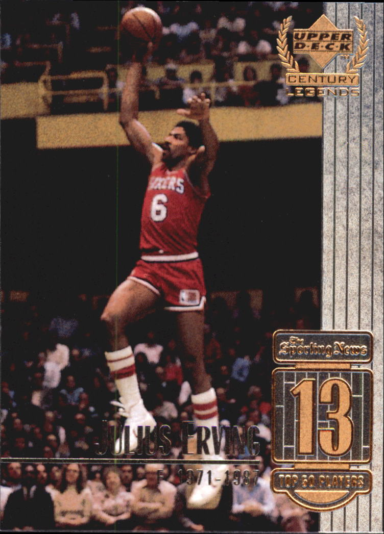1999 Upper Deck Century Legends #13 Julius Erving