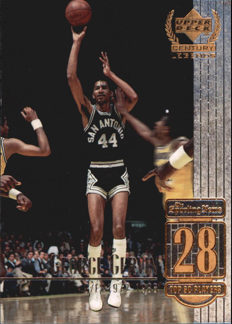 1999 Upper Deck Century Legends #28 George Gervin