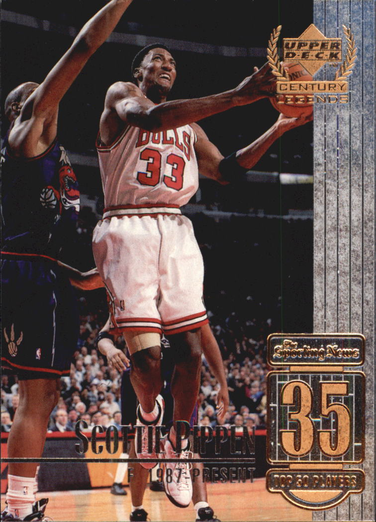 1999 Upper Deck Century Legends #35 Scottie Pippen