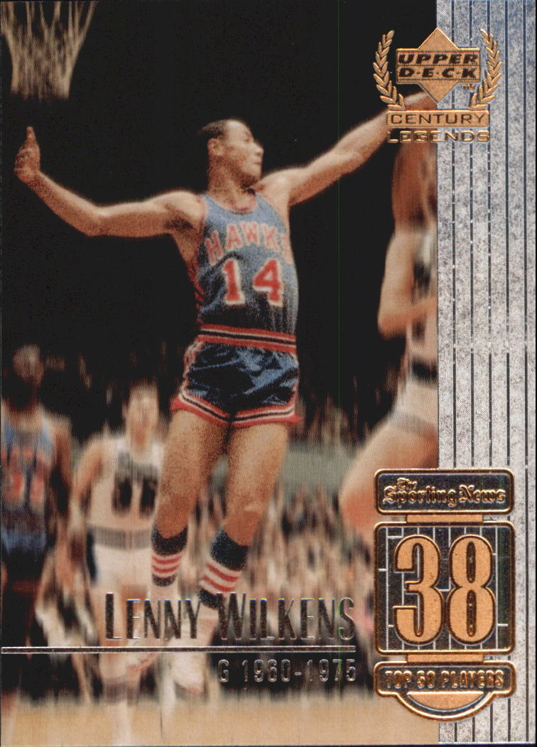 1999 Upper Deck Century Legends #38 Lenny Wilkens