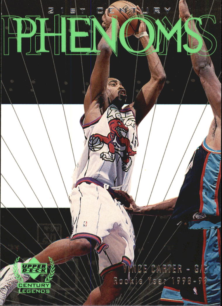 1999 Upper Deck Century Legends #52 Vince Carter
