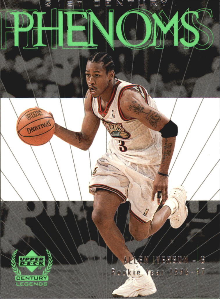 1999 Upper Deck Century Legends #54 Allen Iverson