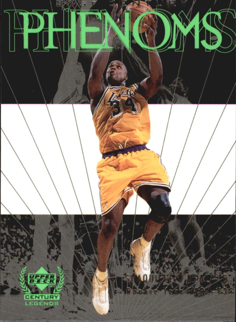 1999 Upper Deck Century Legends #66 Shaquille O'Neal