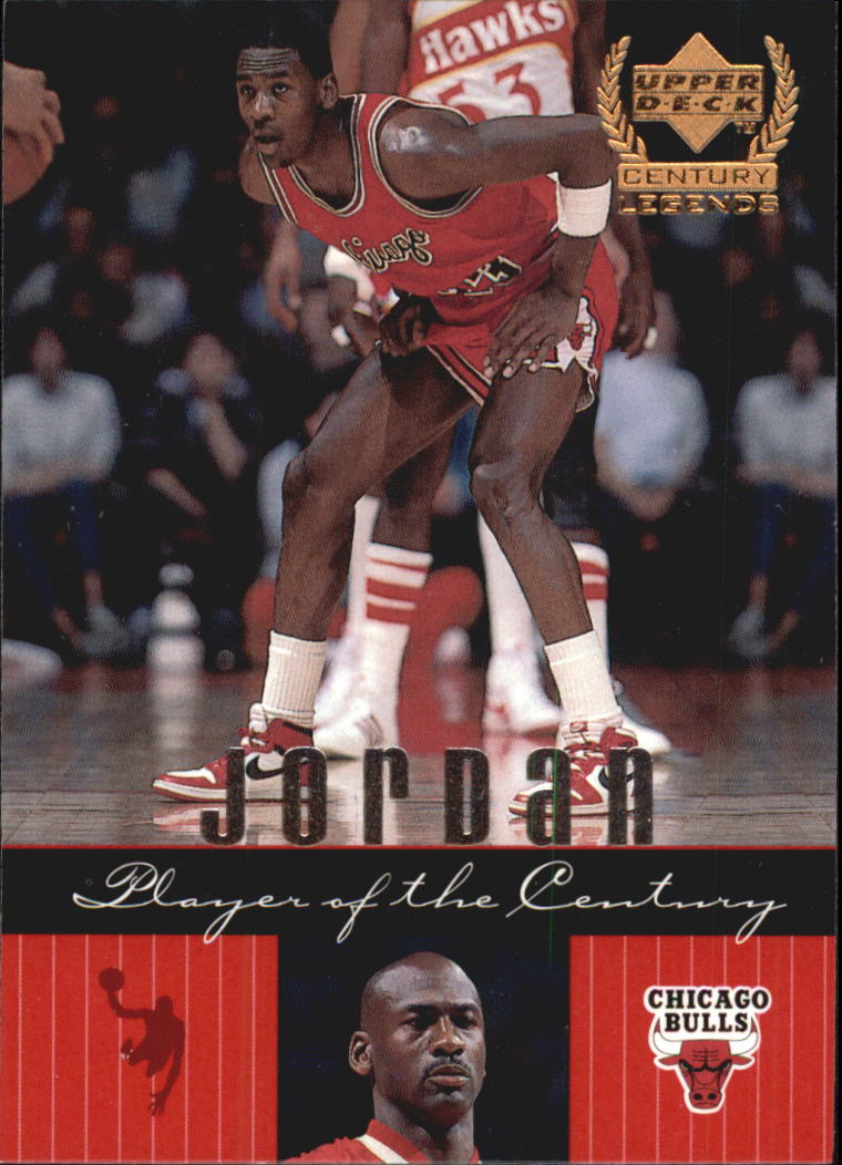 1999 Upper Deck Century Legends #81 Michael Jordan