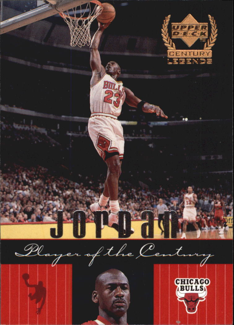 1999 Upper Deck Century Legends #83 Michael Jordan