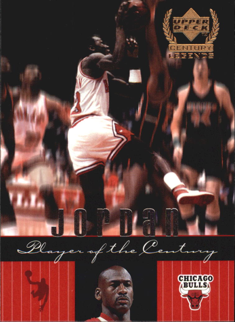 1999 Upper Deck Century Legends #86 Michael Jordan