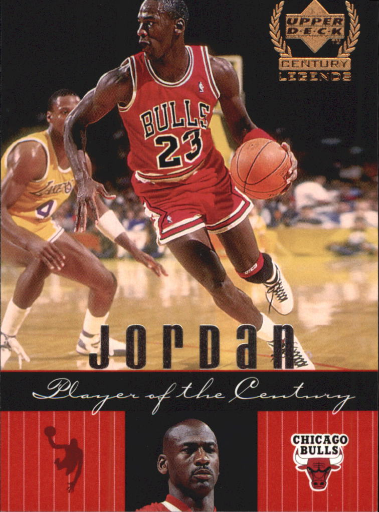 1999 Upper Deck Century Legends #87 Michael Jordan