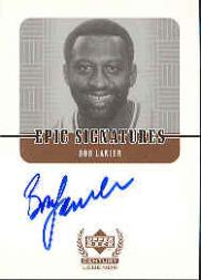 1999 Upper Deck Century Legends Epic Signatures #BL Bob Lanier