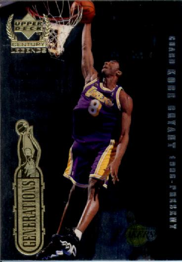 1999 Upper Deck Century Legends Generations #G2 Kobe Bryant/Michael Jordan