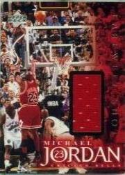 1999 Upper Deck Employee Game Jersey #NNO Michael Jordan