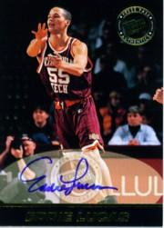 1999 Press Pass SE Autographs Blue #28 Eddie Lucas
