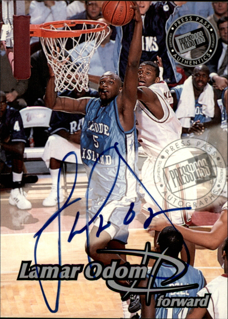 1999 Press Pass Autographs #4 Lamar Odom