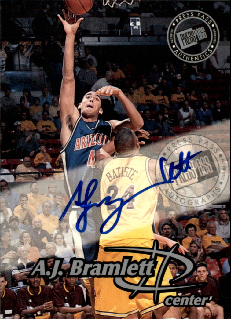 1999 Press Pass Autographs #26 A.J. Bramlett