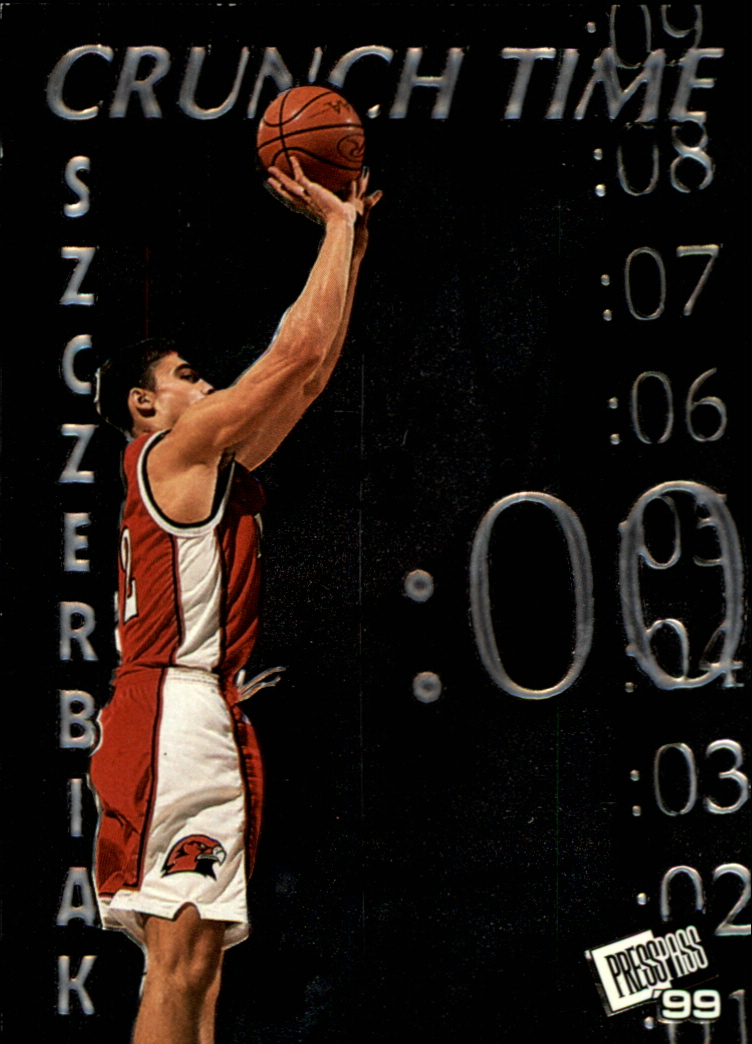 1999 Press Pass Crunch Time #CT5 Wally Szczerbiak
