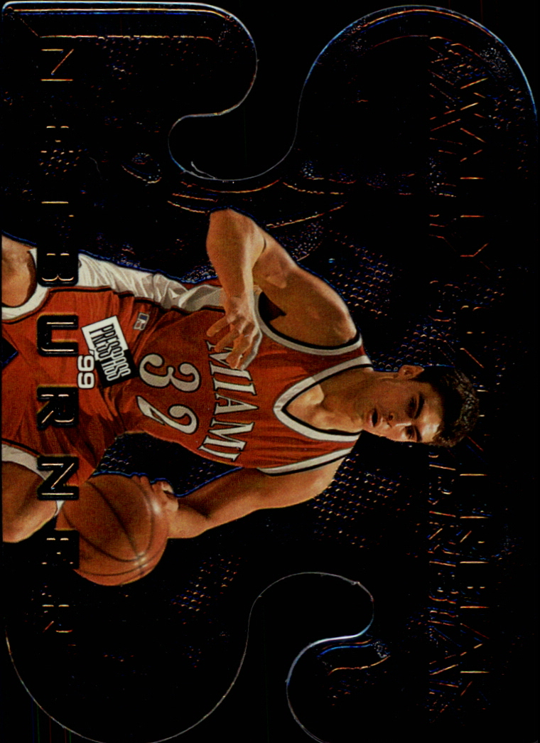 1999 Press Pass Net Burners #NB24 Wally Szczerbiak
