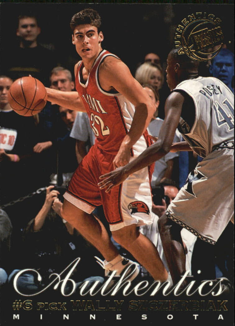 1999 Press Pass Authentics #6 Wally Szczerbiak
