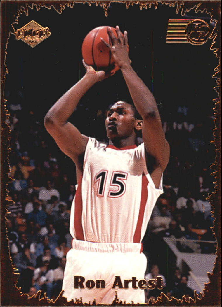1999 Collector's Edge Rookie Rage #1 Ron Artest