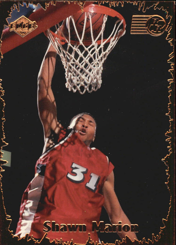 1999 Collector's Edge Rookie Rage #31 Shawn Marion