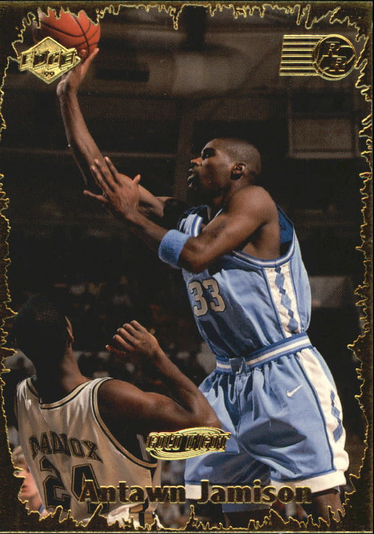 1999 Collector's Edge Rookie Rage Gold #48 Antawn Jamison