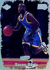 1999 Collector's Edge Rookie Rage HoloGold #14 Baron Davis