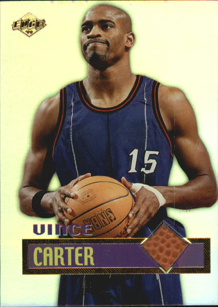 1999 Collector's Edge Rookie Rage Game Ball #GB2 Vince Carter