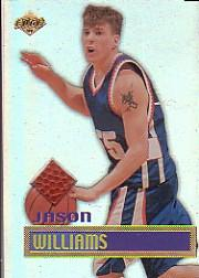 1999 Collector's Edge Rookie Rage Game Ball #GB5 Jason Williams