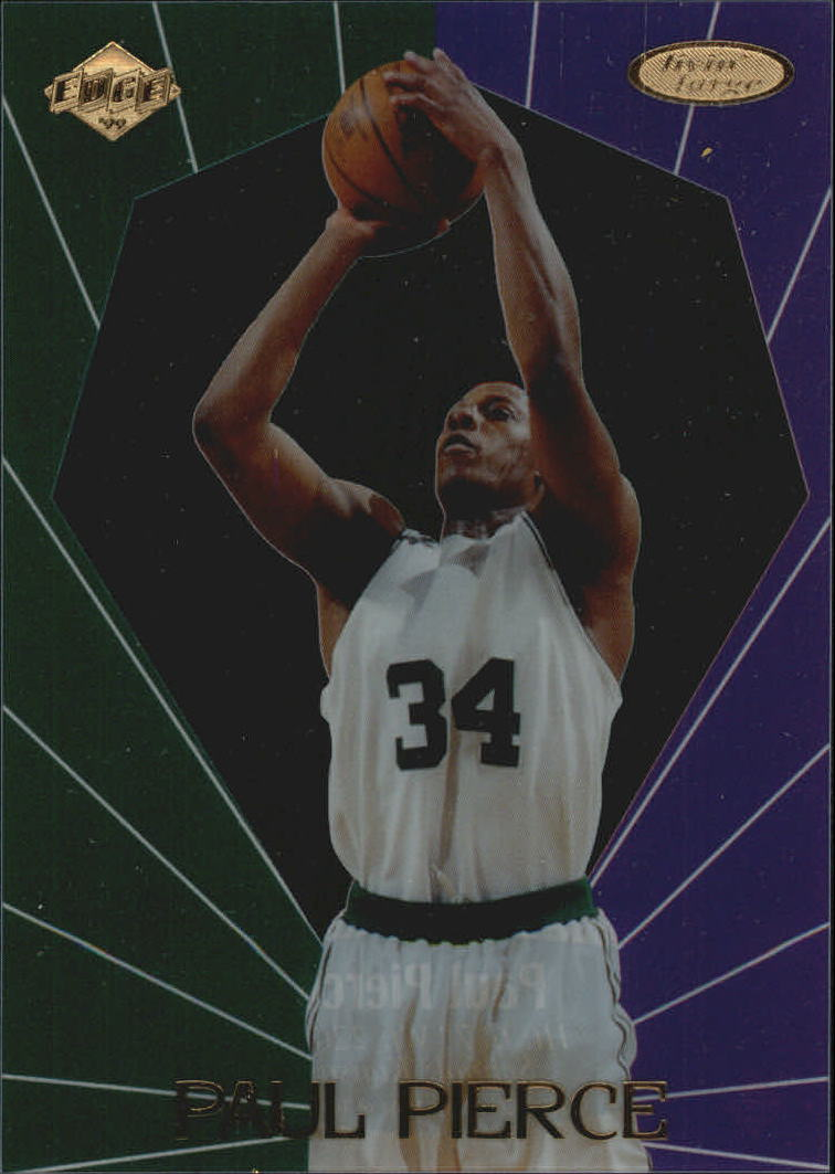 1999 Collector's Edge Rookie Rage Livin' Large #LL4 Paul Pierce