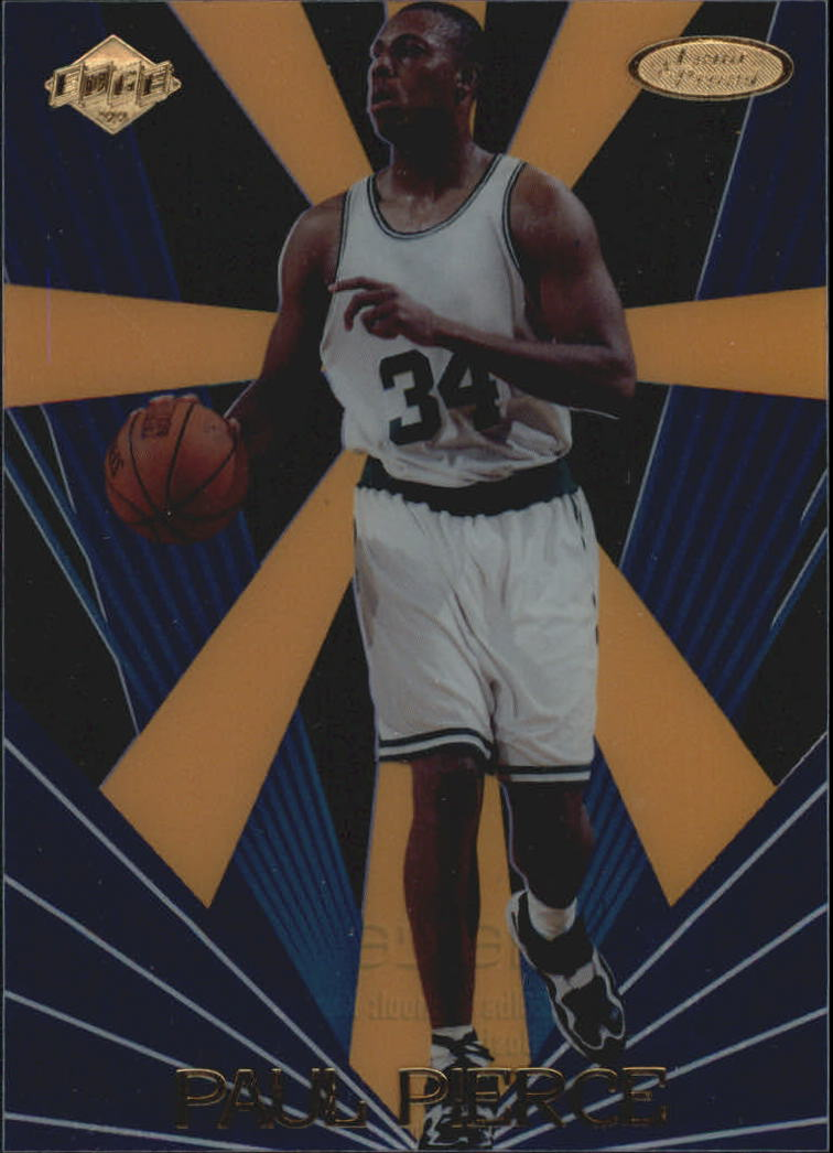 1999 Collector's Edge Rookie Rage Loud and Proud #LP4 Paul Pierce