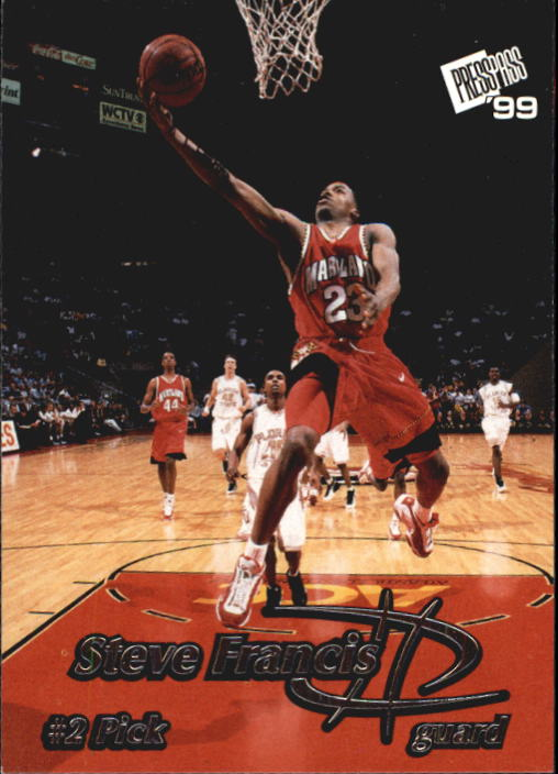 1999 Press Pass #2 Steve Francis