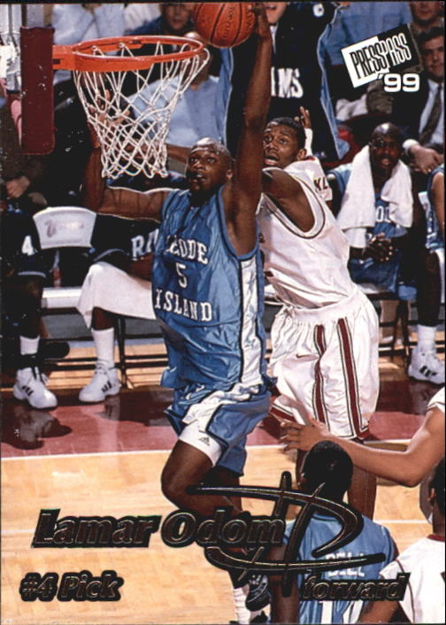 1999 Press Pass #4 Lamar Odom