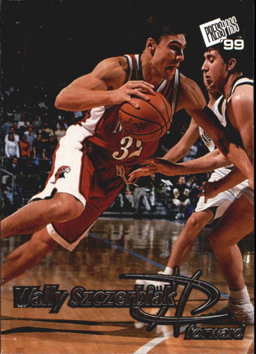1999 Press Pass #6 Wally Szczerbiak
