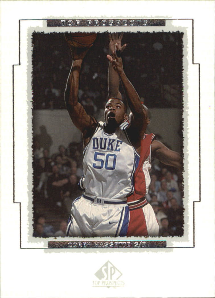 1999 SP Top Prospects #11 Corey Maggette