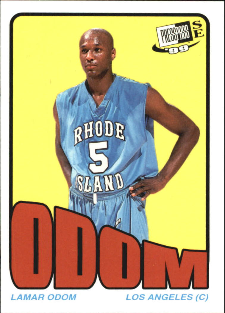 1999 Press Pass SE Old School #OS4 Lamar Odom