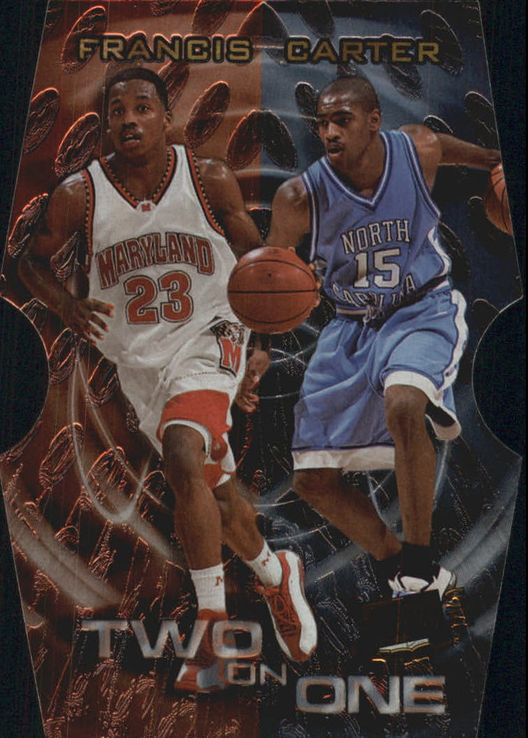 1999 Press Pass SE Two on One #TO2B Steve Francis/Mike Bibby
