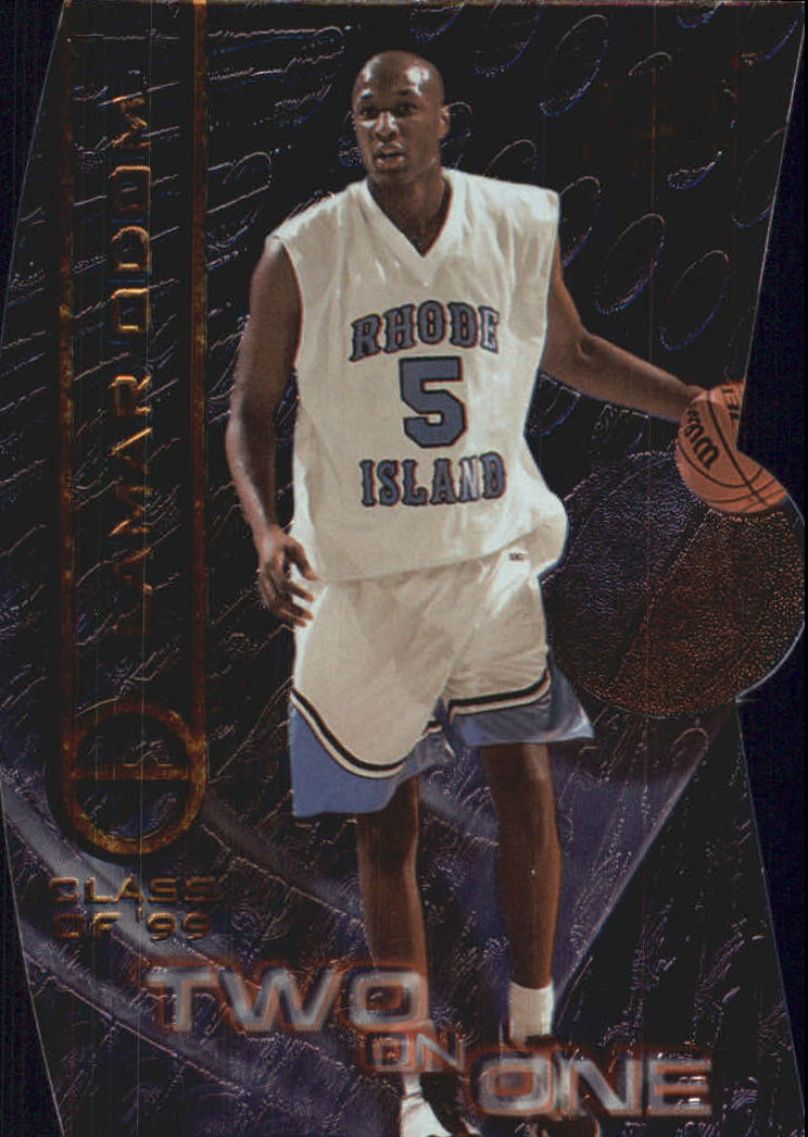 1999 Press Pass SE Two on One #TO4A Lamar Odom