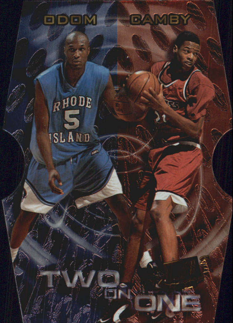 1999 Press Pass SE Two on One #TO4B Lamar Odom/Marcus Camby