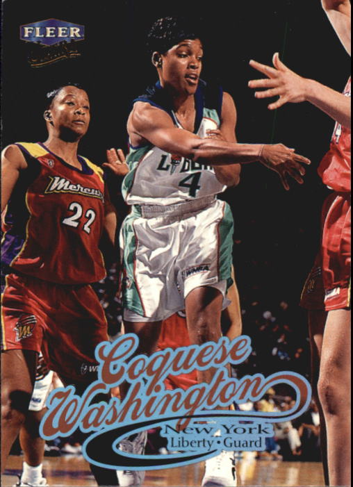 1999 Ultra WNBA #4 Coquese Washington RC