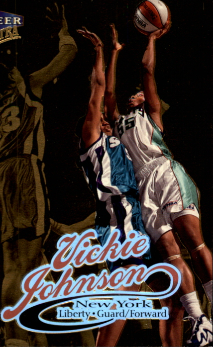 1999 Ultra WNBA #5 Vickie Johnson
